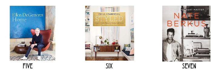 Favorite Home Books - HomeWork Design Co.